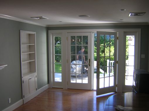 Custom Made Deck And Exterior French Doors