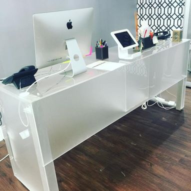 Custom Made Lucite Desk