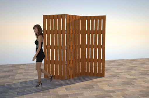 Custom Made Reclaimed Wood Shoji Screens