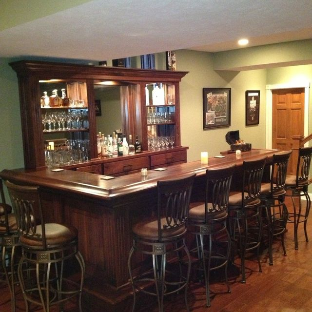 Hand Crafted Black Walnut Home Bar by Jeremy Belanger Woodworking ...