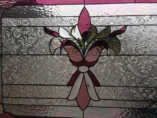 Custom Made Victorian Style Stained Glass Window