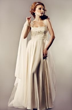 Custom Made Silk Wedding Gown