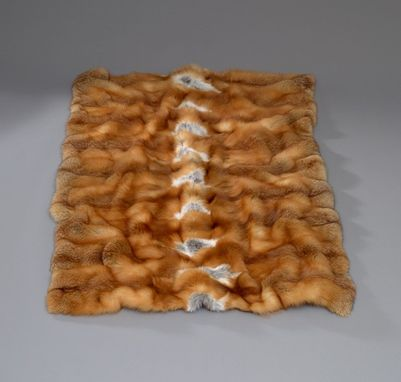 Custom Made Red Fox Blanket- Any Size Available To Your Needs