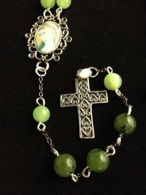 Custom Made Jade  Rosary