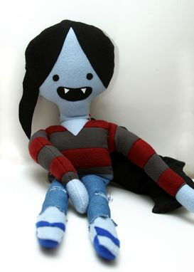 Custom Made Marceline Adventure Time Plush
