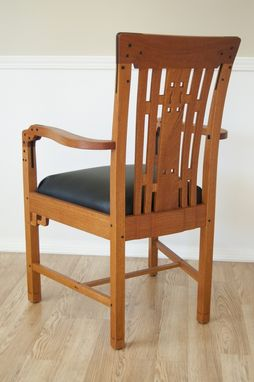 Handmade Blacker House Living Room Arm Chair By Mm Wood