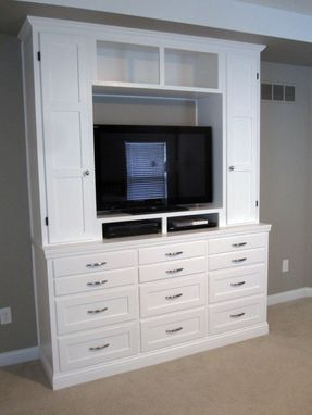 Custom Made Bedroom Dresser/Entertainment Center