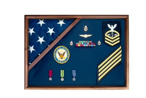 Custom Made Flag Display Case American Flag Box Burial Flag Case