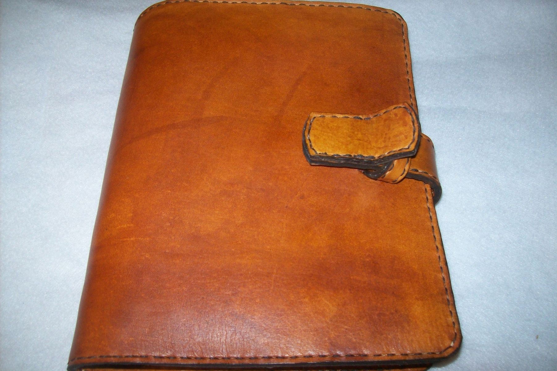 Buy A Hand Made Custom Leather Day Planner Made To Order From - Custom daily planner