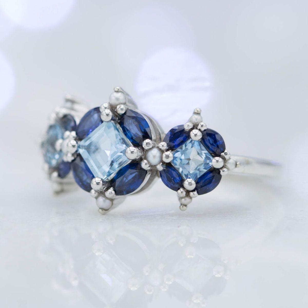 Aquamarine Engagement Rings Custommade Com