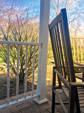 Custom Made Colonial Wood Style Railings