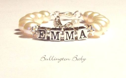 Custom Made Baby Name Bracelet
