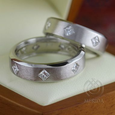 Custom Made Matching Wedding Bands For Men