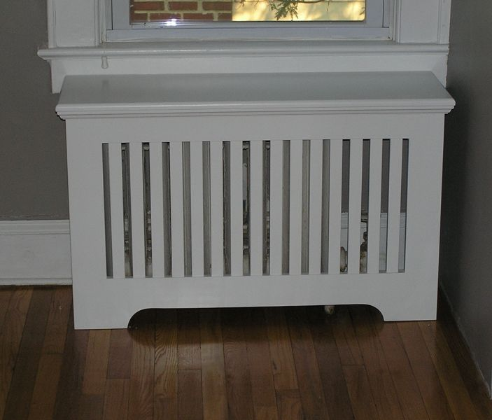 Custom Mission Radiator Cover By Cabinetmaker Cabinets By