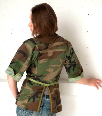 Custom Made Wounded Warrior Women's Blazer (50% To Charity)