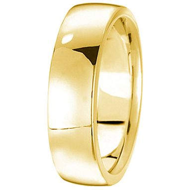 Custom Made Men's Wedding Ring Low Dome Comfort-Fit