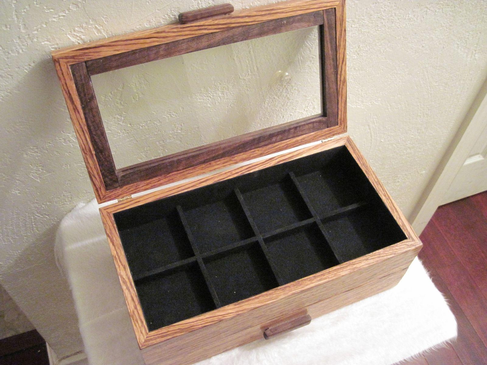 Handmade Zebra Wood Watchbox By Pj S Custom Woodworking