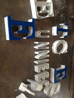 Custom Made Channel Letter- Sign For Building