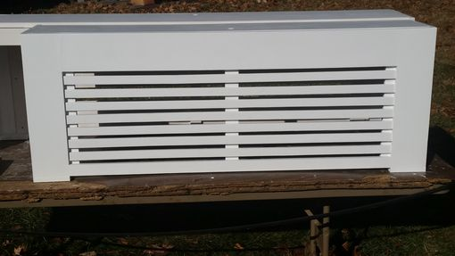 Custom Made Custom Radiator Covers.