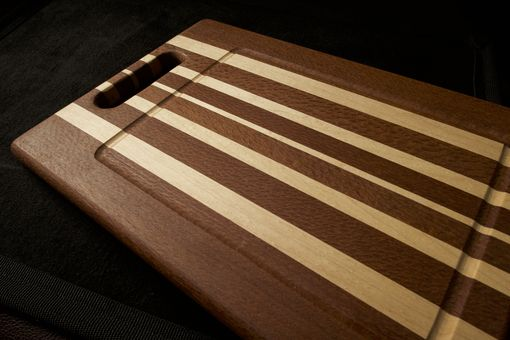 Custom Made Cutting Board - Leopardwood & Hard Rock Maple