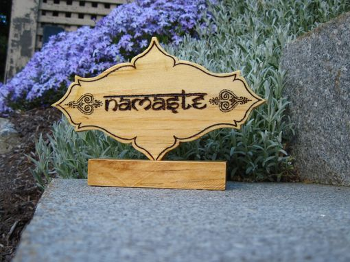 Custom Made Namaste Yoga Decoration