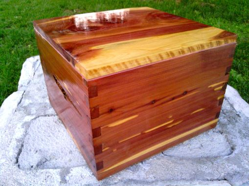Custom Made One-Of-A-Kind Solid Wooden Boxes