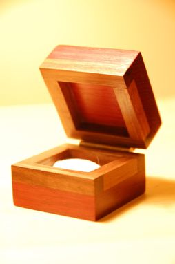 Custom Made Ring-Engagement Box