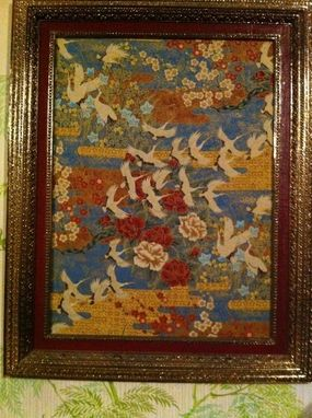 Custom Made Original Oriental Fiber Art