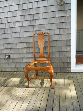 Custom Made Rhode Island Queen Anne Chair