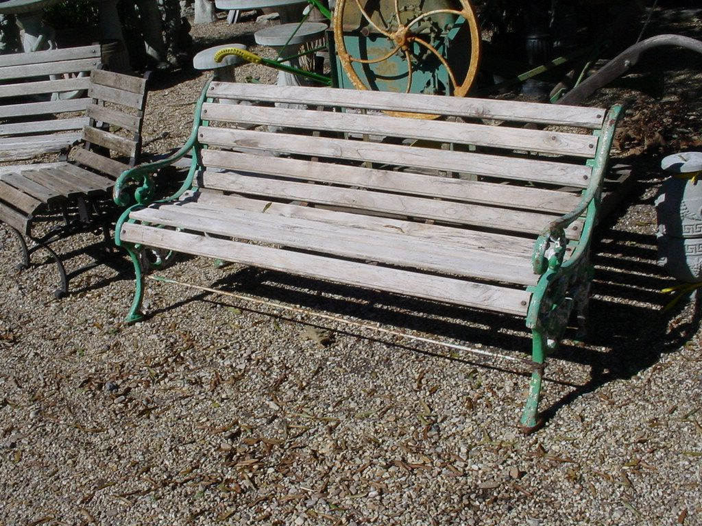 Awesome Custom Made Sold 5 Victorian Garden Bench Heavy And Very Machost Co Dining Chair Design Ideas Machostcouk