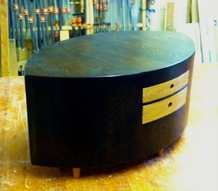 Custom Post Modern Coffee Table By Dovetail Furniture Company - Post modern coffee table