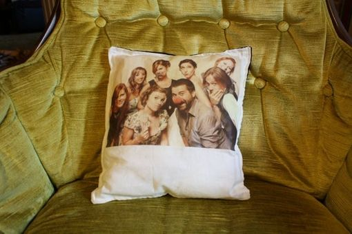 Custom Made Personalized Polaroid Pillow - Made To Order