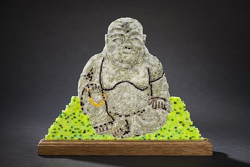 Custom Made Buddha With Beads