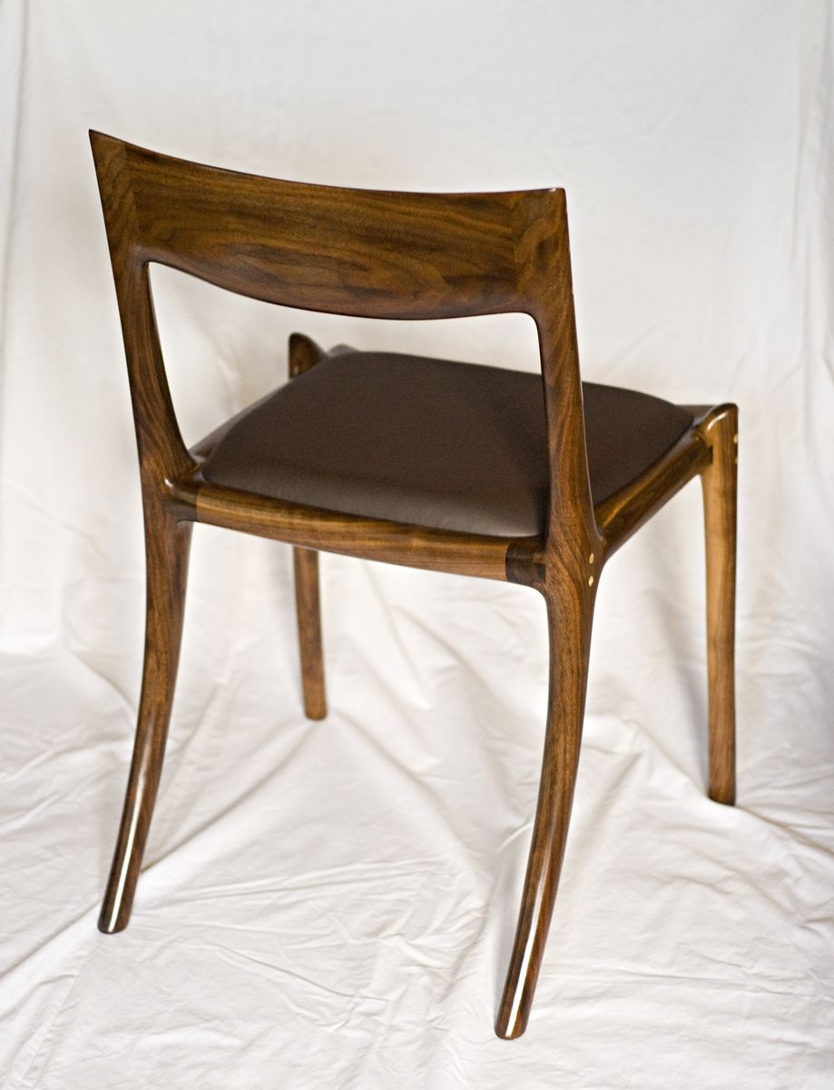 Low Back Dining Room Chairs Hand Crafted Low Back Dining Chair By Garybd Woodworking
