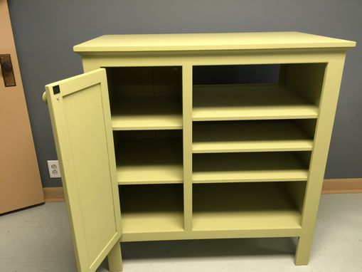 Custom Made Single Door Secretary Cabinet
