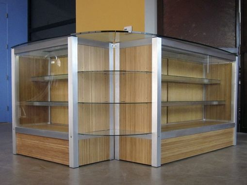 Custom Made Custom Retail Display Cabinet