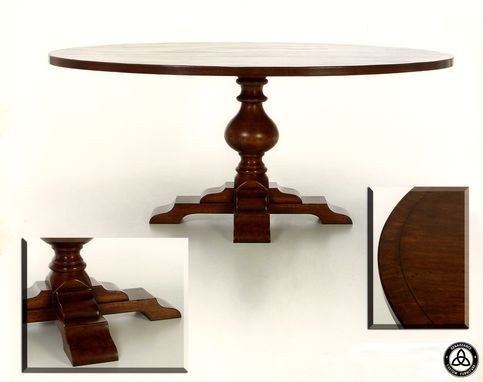 Custom Made #425 Pecan Dining Table