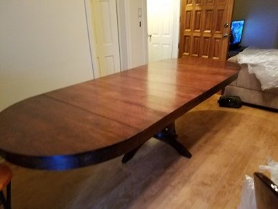 Custom Made 10 Ft. Solid Cherry Extension Table
