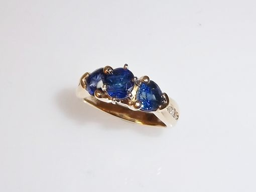 Custom Made Sapphires From Afghanistan Meet An Unused Cocktail Ring