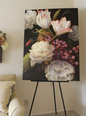 Custom Made Winter Floral Painting