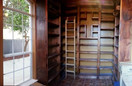Custom Made Custom Library With Ladder