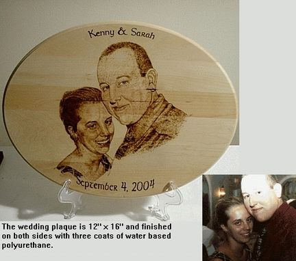 Custom Made Wedding/Memories Plaque