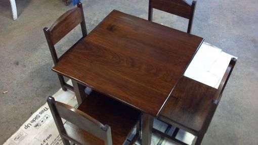 Custom Made Child's Table And Chair