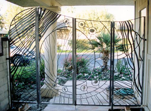 Custom Made Gate - Manzanita Boogie - 2001