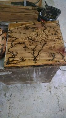 Custom Made Electrical Etched, One Of A Kind Cheese Boards, Southern Cypress