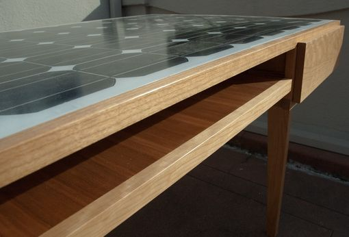 Custom Made Solar Panel Desk