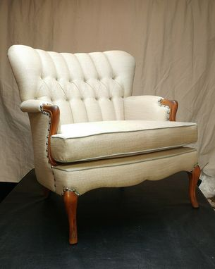 Custom Made Sample - Vintage Tufted Chair