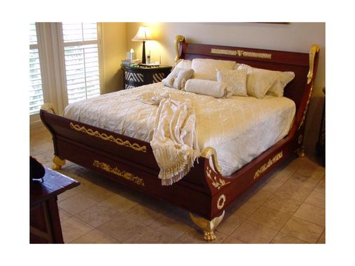 Custom Made Copy Of A French Empire Bed