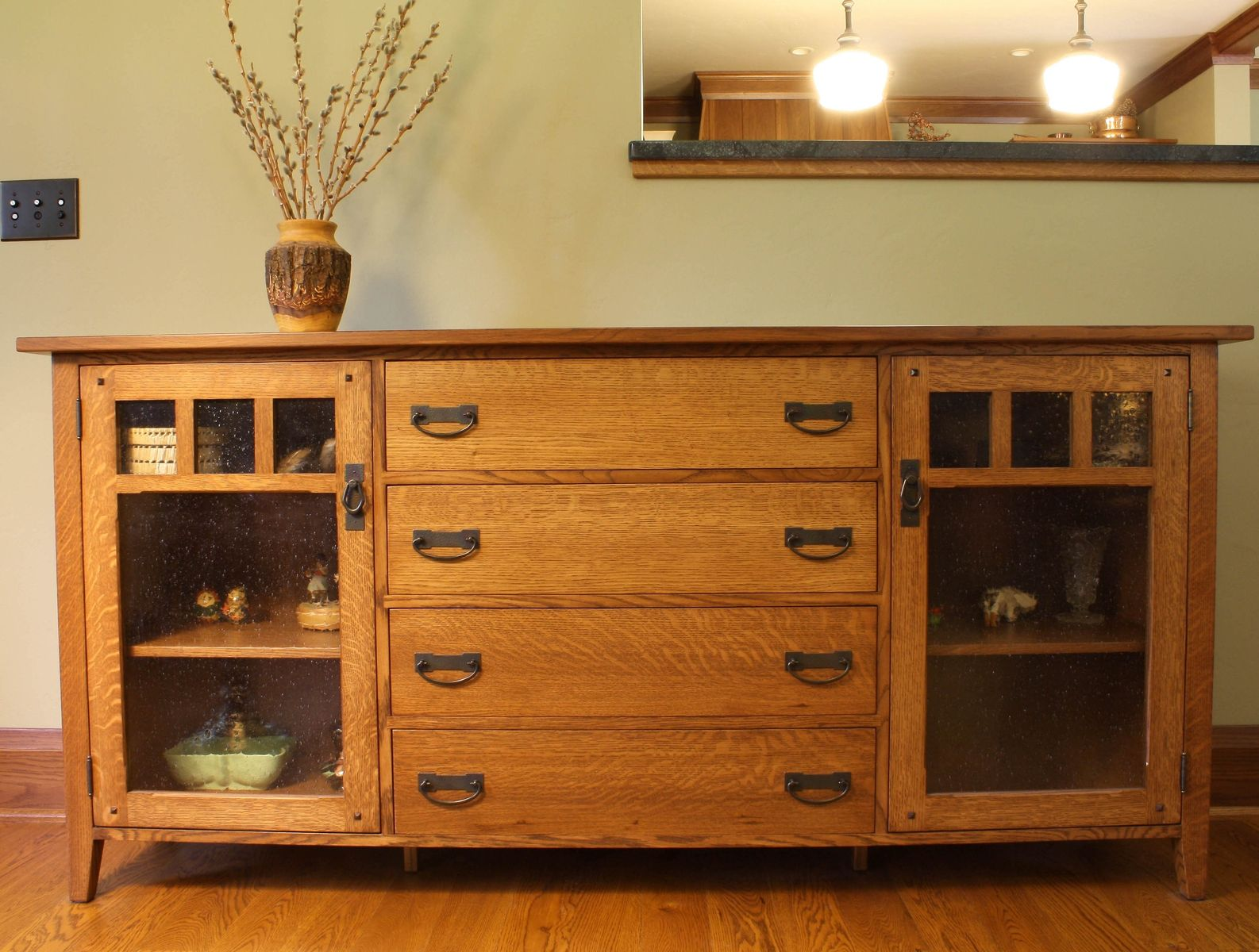 Hand Made Arts Amp Crafts Sideboard By Montana Cabinet