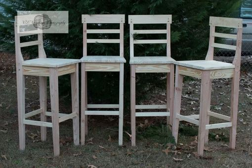 "Custom Made 34"" Bar Stool Chairs"